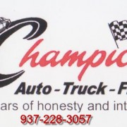 Champion Auto Service In Business Over 38 Years!